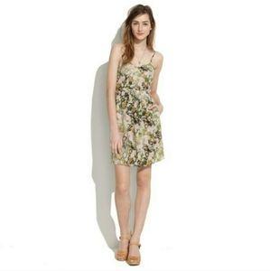 Madewell Floral Silk Sundress